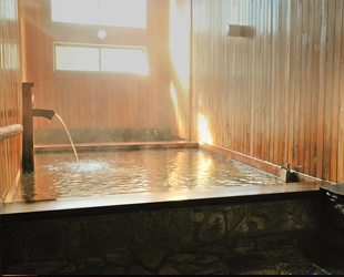 天然温泉のイメージ